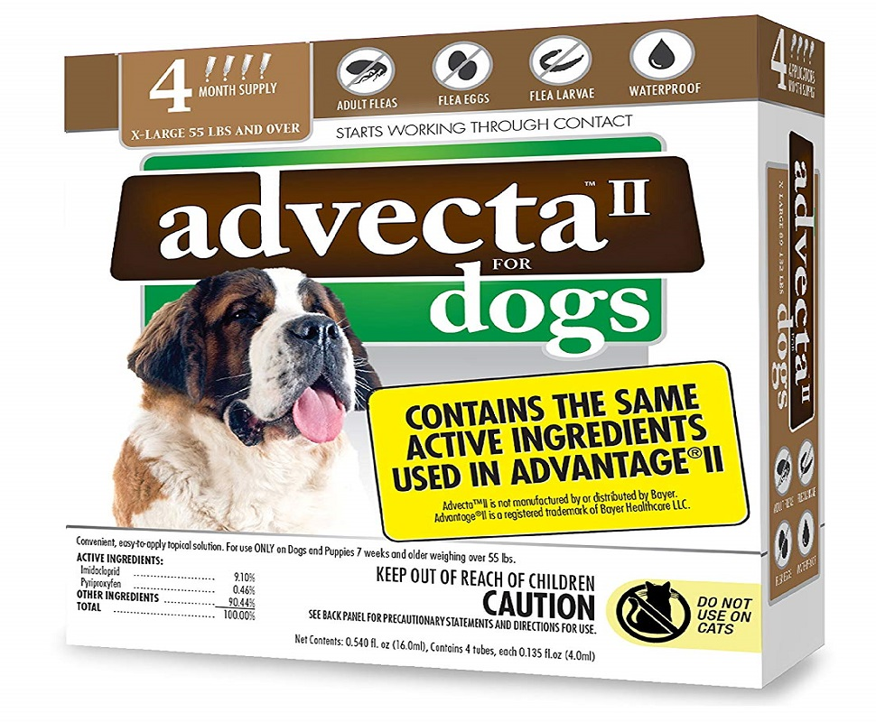 Advecta II Flea Treatment for Dog