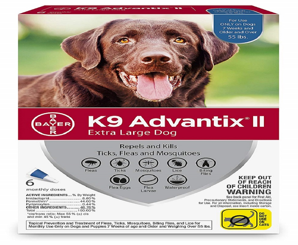 Bayer K9 Advantix II Flea and Tick
