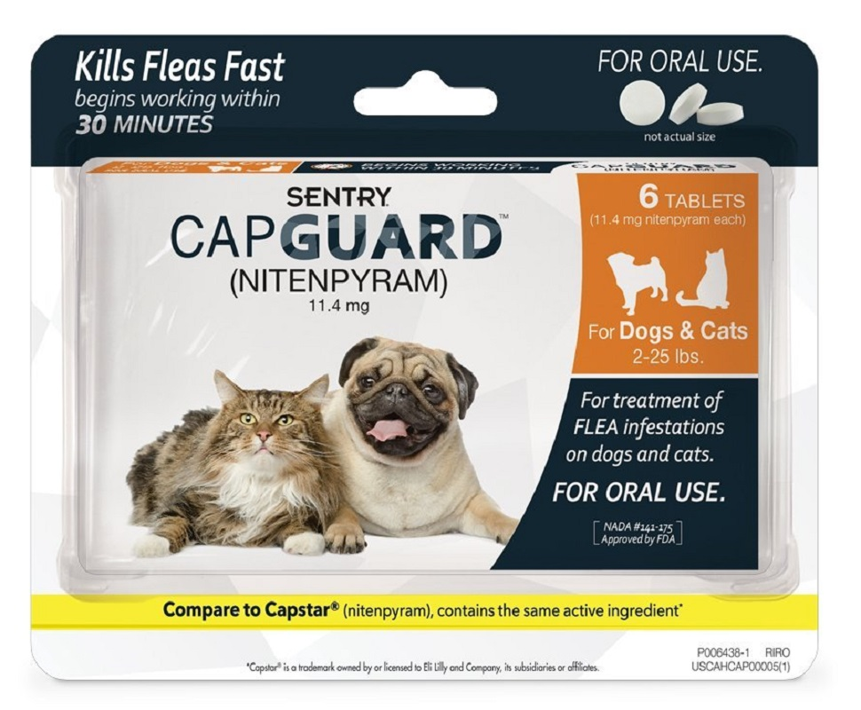 SENTRY Capguard Oral Flea Treatment