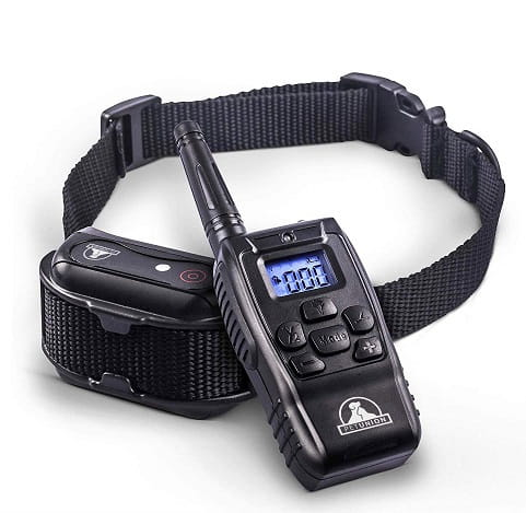PetUnion Remote Controlled Dog Training Collar